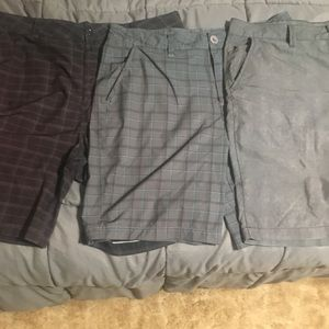 3 pair of men's size 36 shorts
